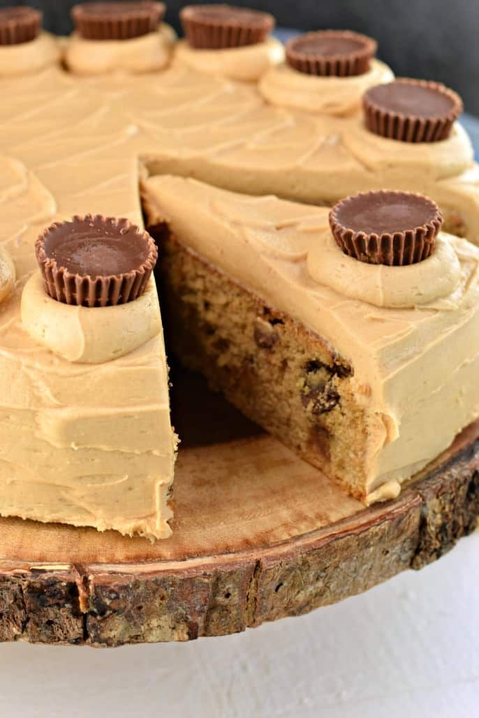 This easy Reese's Peanut Butter Cake is so moist…