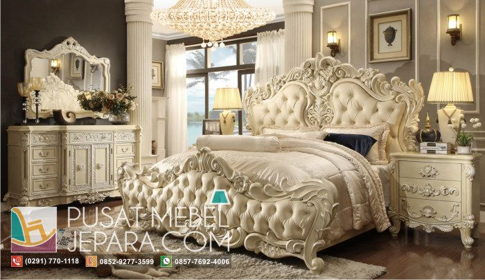 set-tempat-tidur-duco-mewah-adorable-creamy