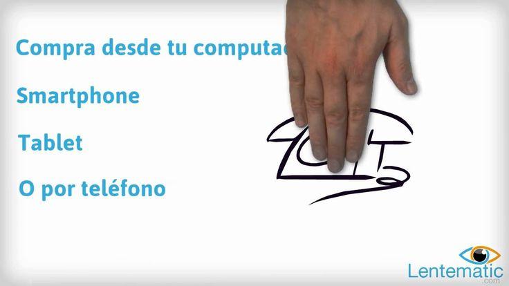 Video que describe los servicios que ofrece Lentematic en México. Compra tus lentes de contacto y pupilentes en línea!