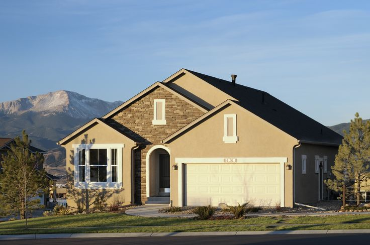 39 best home exterior images on pinterest colorado springs car garage and floor plans