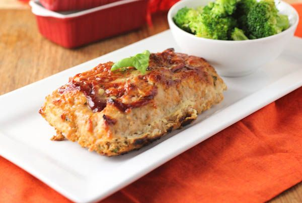Italian Turkey Meatloaf with Basil. mmmmm...sounds heavenly. With sun ...