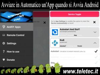 Come Eseguire un'App in Automatico all'Avvio di Android