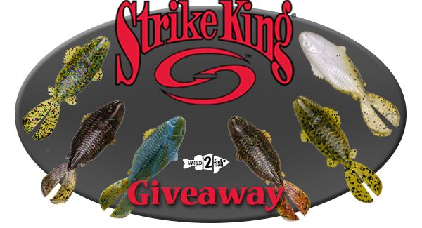 Enter for a chance to win six packs of Rage Tail Shellcrackers from Strike King.