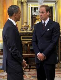 President Barack Obama With Prince William