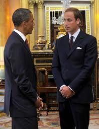 President Barack Obama With Prince William