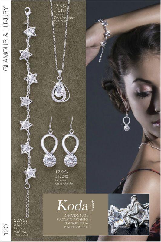 Collana,bracciale, orecchini  placcati  argento - Idea regalo Natale!!