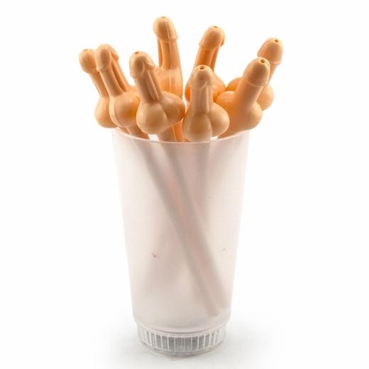 Penis straw bachelorette