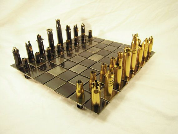Steel Chess Set 37 best chess sets images on pinterest | chess sets, bullets and