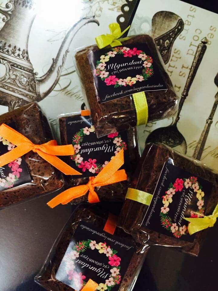 Cutest brownie packaging