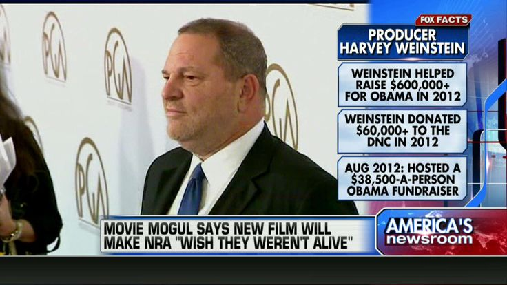 Harvey Weinstein: I'm Working on Movie With Meryl Streep to Destroy the NRA