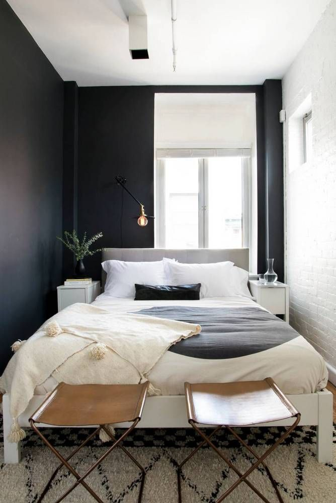 black and white sophisticated bohemian space pi ce en plus pinterest chambres. Black Bedroom Furniture Sets. Home Design Ideas