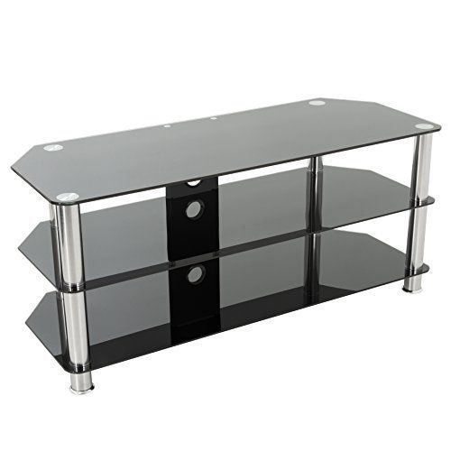 "Black Gloss Glass TV Stand Suitable For LCD LED TVs 20 - 65"" Cable Management TV Unit (100cm) - http://www.computerlaptoprepairsyork.co.uk/monitorstv-screens/tvs/black-gloss-glass-tv-stand-suitable-for-lcd-led-tvs-20-65-cable-management-tv-unit-100cm"