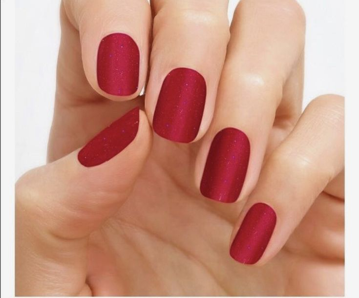 Color Street Nail Art, Nail Stickers, Nail Polish Sets – Lust Embourg, Red Glitt…