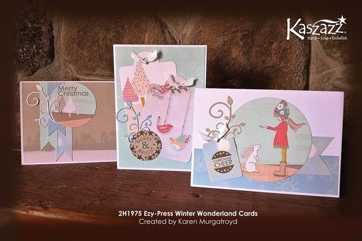 2H1975 Ezy-Press Winter Wonderland Cards