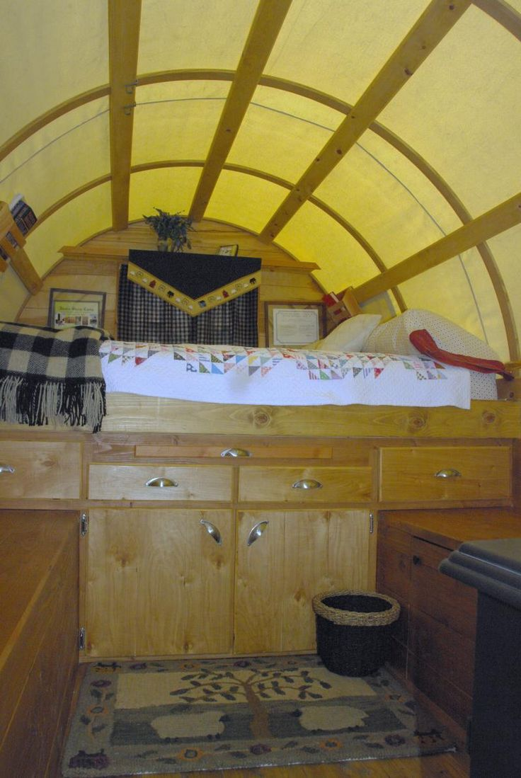 this sheep wagon is being used as a guest cabin in wyoming been there 2 - Sheep Wagon 2