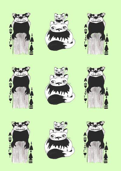 Animal pattern on Behance
