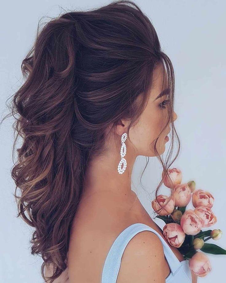 Top 40 welcher besten Hochzeitsfrisuren für jedes langes Wolle 2019 »Frisuren 2019
