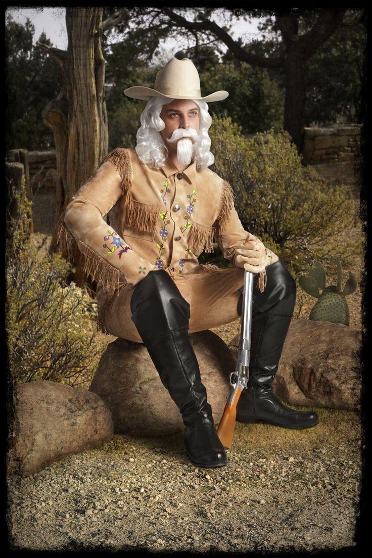 Strój Buffalo Billa, legendy Dzikiego Zachodu, która z pewnością zrobi wrażenie podczas imprezy w westernowskim stylu.