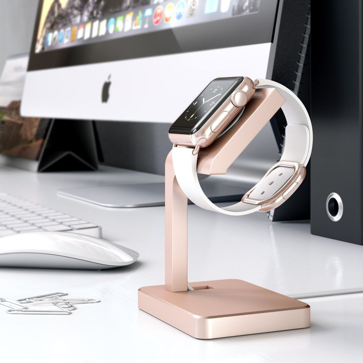 The Satechi Aluminum Apple Watch Stand charges, docks, and showcases your Apple…