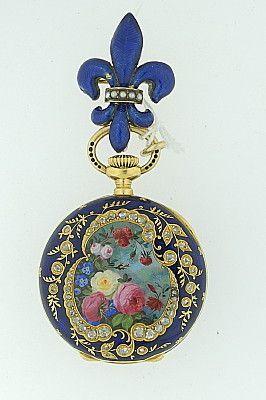 A gorgeous pocket watch