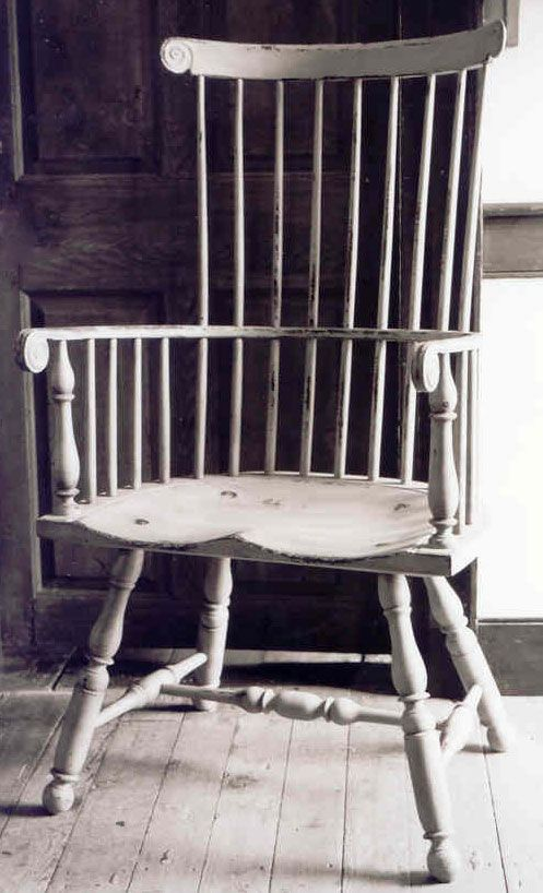 Windsor chair...
