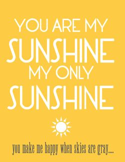 To show someone you are thinking of them or to brighten up their day consider giving them a Box of Sunshine!  Basically you can take anything in the color yellow and add it to this box.  Cut out a few paper sunbeams, print out a little note and you have a Box of Sunshine!