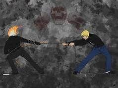 Ghostie vs Spirit of Vengeance - deviantart