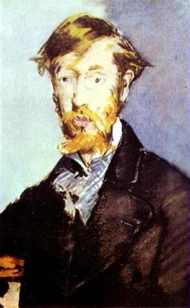 Retrato de George Moore, 1879 - Édouard Manet