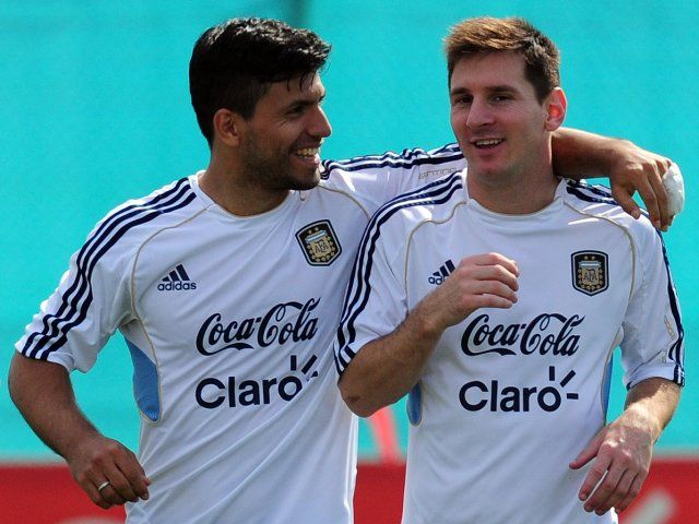 Argentina's Sergio Aguero could join Lionel Messi in retiring from international football #Manchester_City #Argentina #Football