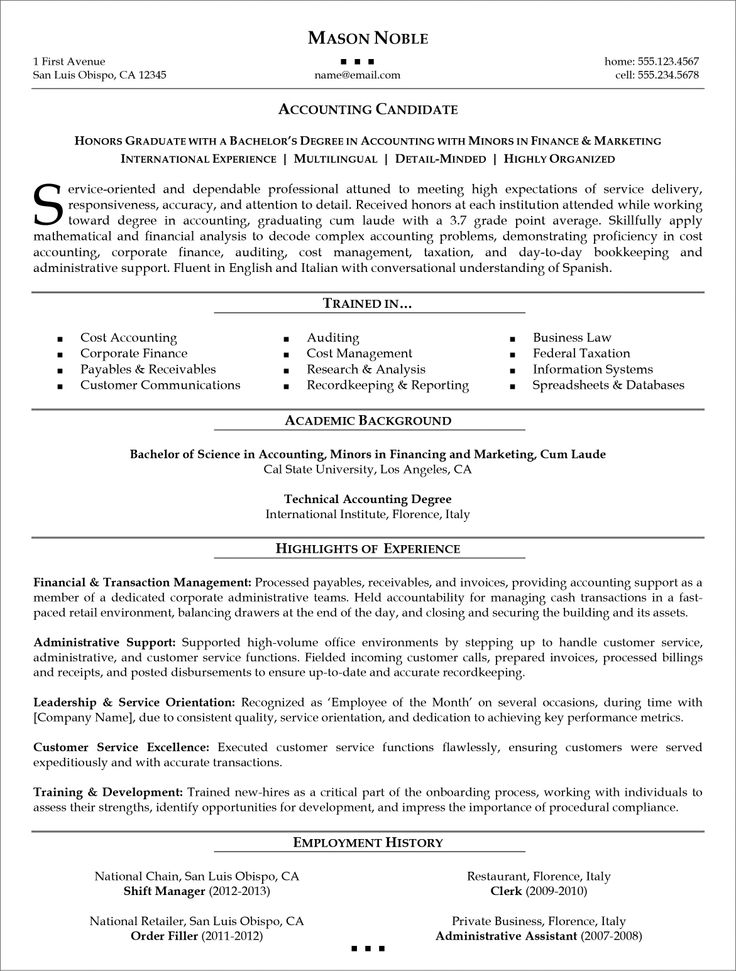 Functional Resume Resume & Cover Letter work Pinterest
