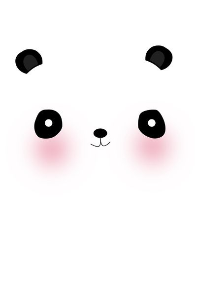 cute panda painting wallpaper - photo #13