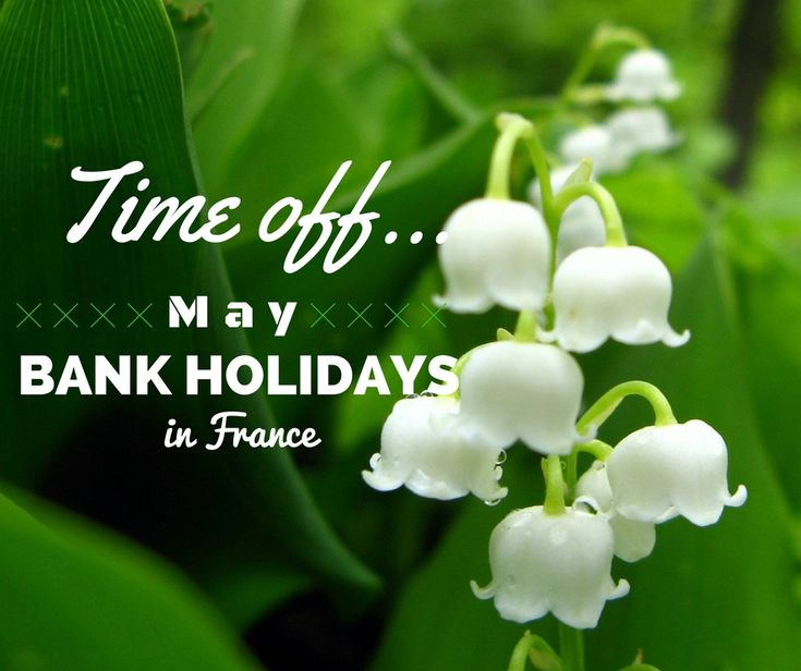 "Love France… French bank holidays in May: May in France starts as it means to go on, with a bank holiday. The rest of the month follows suit with an array of days off to be enjoyed by the French. With some of them, it is also possible to ""do the bridge""… but what does that mean? Here is our guide about all bank holidays happening in May in France this year, so you don't turn up at work for nothing… Read more on Leggett French Property Blog!"
