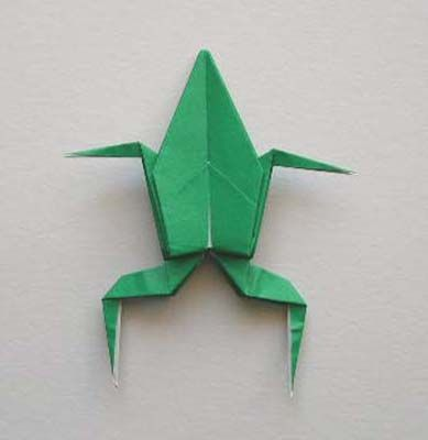 Origami Instructions - How to Make an Origami Frog