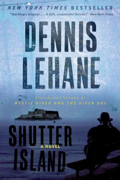 Shutter Island by Dennis Lehane. Psychological thriller recommended by K.A. Harrington.