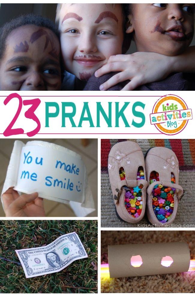 20+ April Fools Day Pranks on Kids Activities Blog