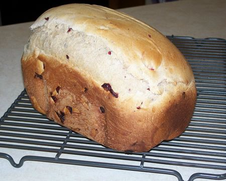Egg Nog Bread:  This was great!  Looking forward to making several loaves throughout this holiday season while Egg Nog is available.  Recipe calls for dried cranberries, and I did not have those on hand, so I used raisins instead.  Thinking of trying dried cherries as well.