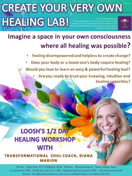 Loosh's Healing Lab workshop!! Amazing space to learn a technique that could change anything in your reality!! Xx  Info@looshexclusive.com.au