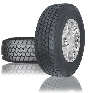 OPEN COUNTRY WLT1 - Engineered to deliver optimal performance for a variety of commercial vehicle applications in demanding winter road conditions.