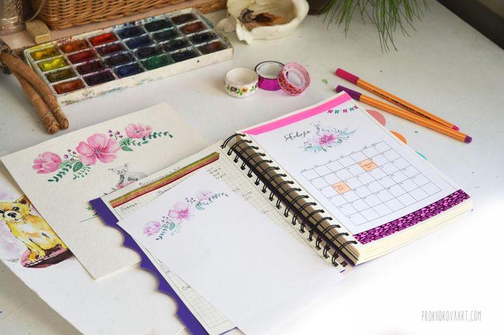 Prokhorovaart- blog: Календарь на январь Скачать