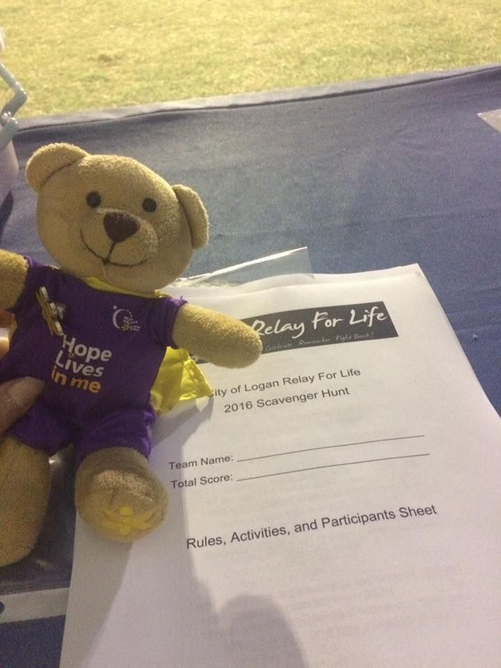 Logan at City of Logan Relay For Life 2016