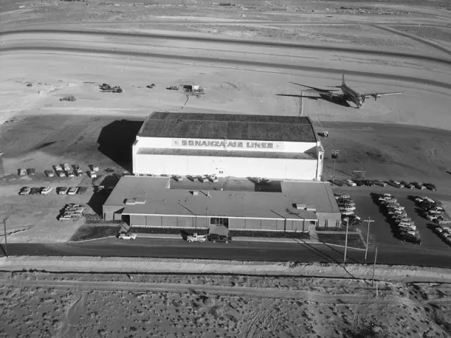 Photos from collection: Construction of Las Vegas in the early 59