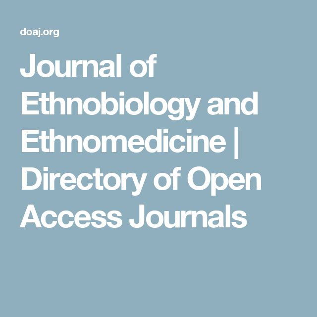 Journal of Ethnobiology and Ethnomedicine | Directory of Open Access Journals