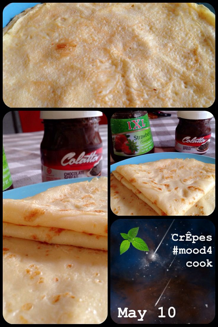 Easy crêpes for lazy saturday #mood4cook