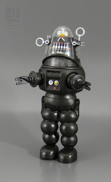 ROBBY THE ROBOT die cast by X-Plus Japan by LUNZERLAND., via Flickr