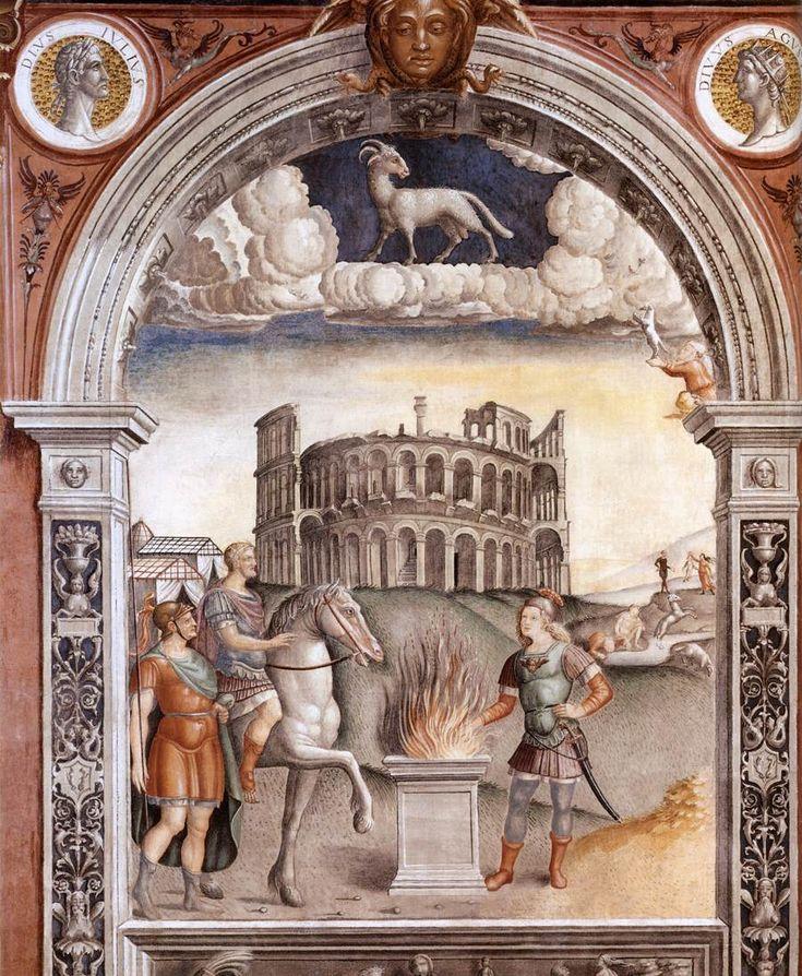 Sign of Aries - Giovanni Maria Falconetto