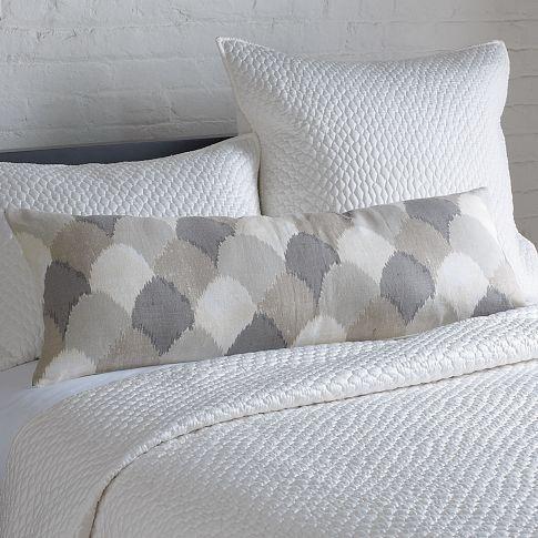 West Elm Sahara Ikat Hemp Pillow