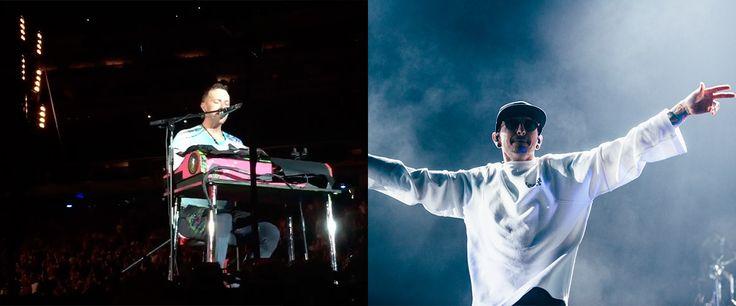 Coldplay faz um tributo a Chester Bennington, ex-vocalista do Linkin Park durante show em Nova Jersey. O vocalista ainda recebeu um elogio de Jay-Z.