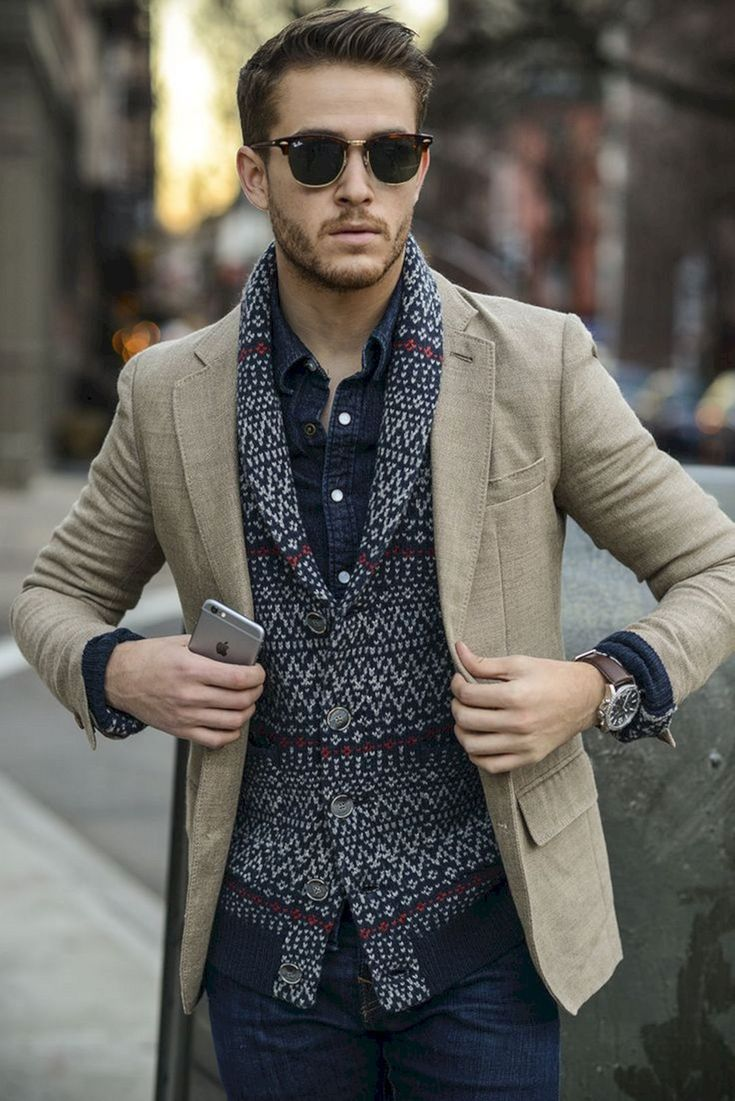 18 Incredible Cardigan Fashion For Cool Men Style Ideas – grooming
