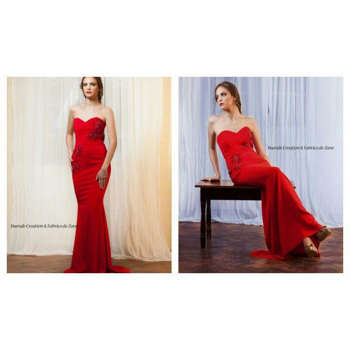 Mermaid embellished dress