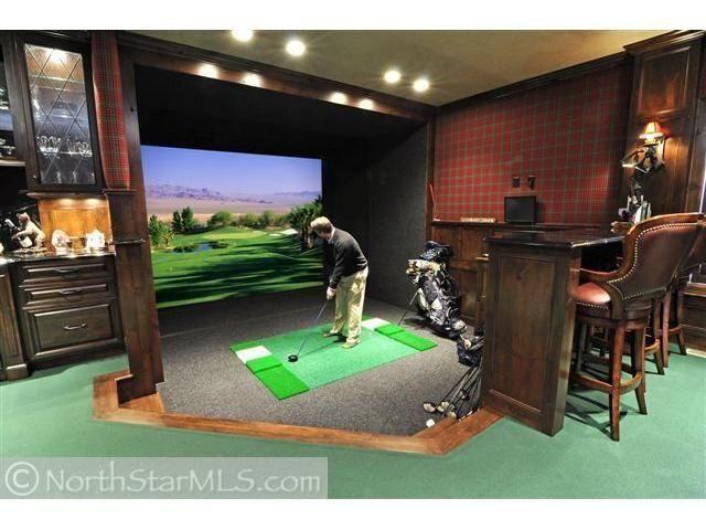 29 best Golf Rooms images on Pinterest | Golf room, Golf ...